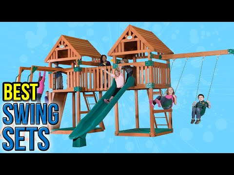 10 Best Swing Sets 2016