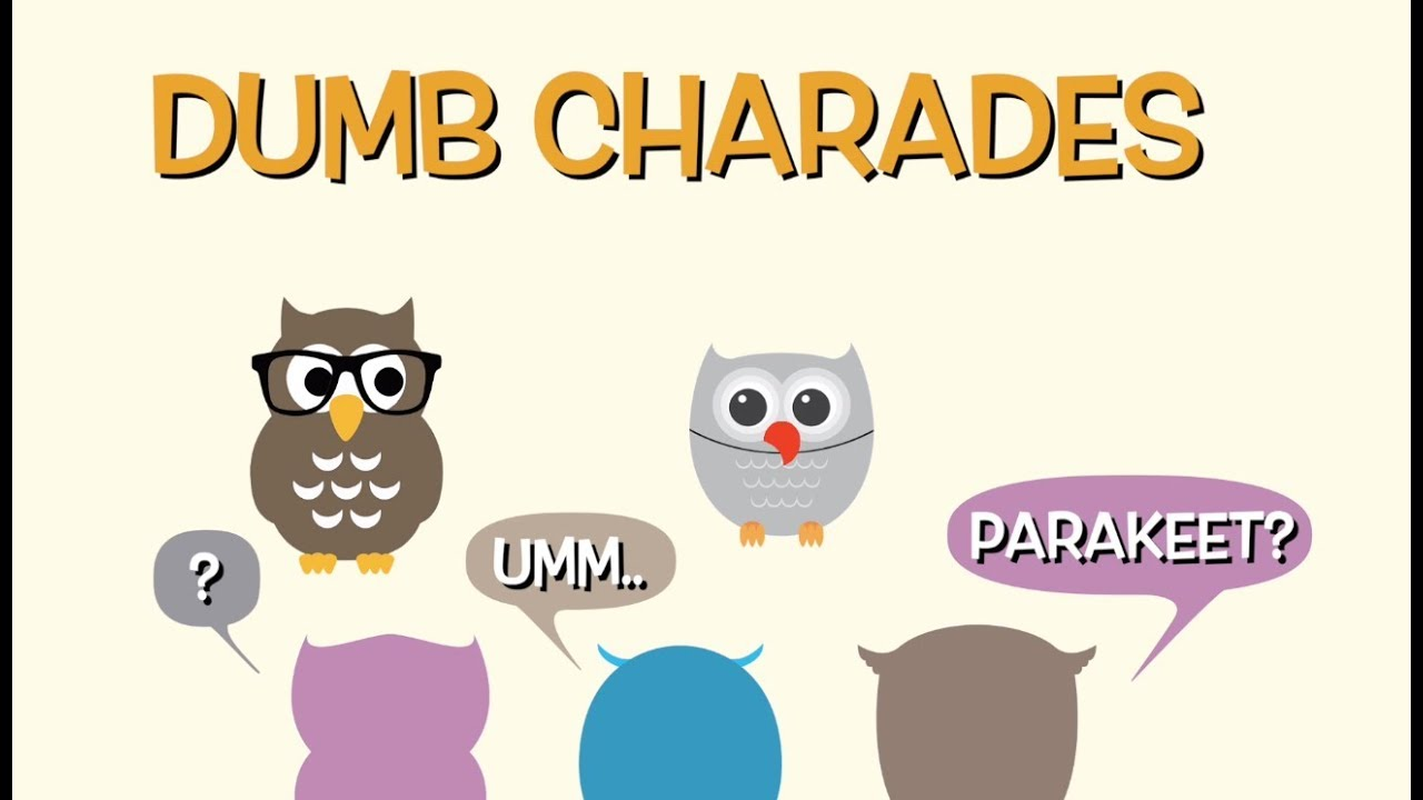 Early Bird Flashcards Game 6: Dumb Charades