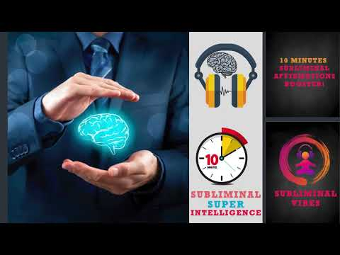 [[GET SUPER INTELLIGENCE]] FAST SUBLIMINAL AFFIRMATIONS BOOSTER