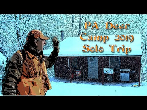 PA Deer Camp 2019 Solo Trip