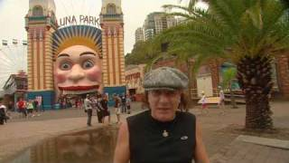 Join AC/DC lead singer Brian Johnson tours around Sydney, Australia...