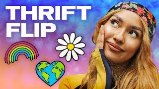 Upcycling Fire Thrifted Items! (ft. Simple) NAYVA Ep #49 ~ FASHION & BEAUTY