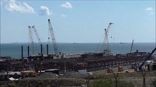 Строительство Керченского моста (сентябрь, 2016).(Предыдущие видео: За декабрь: https://goo.gl/xY23AP Январь: https://goo.gl/zi880p Февраль: https://goo.gl/xQqf3O Март: https://goo.gl/B4CrPY Апрель:..., 2016-09-04T09:26:37.000Z)