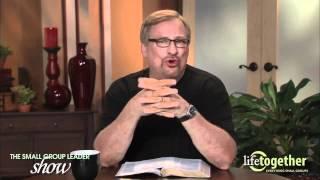 Biblical Basis of Small Groups Rick Warren