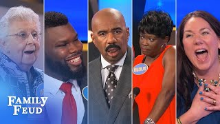 top 10 moments the absolute craziest of all crazy from 2017 family feud