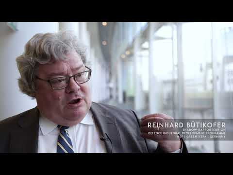 Reinhard Bütikofer - Shadow Rapporteur on Defence Industrial Development Programme | Germany