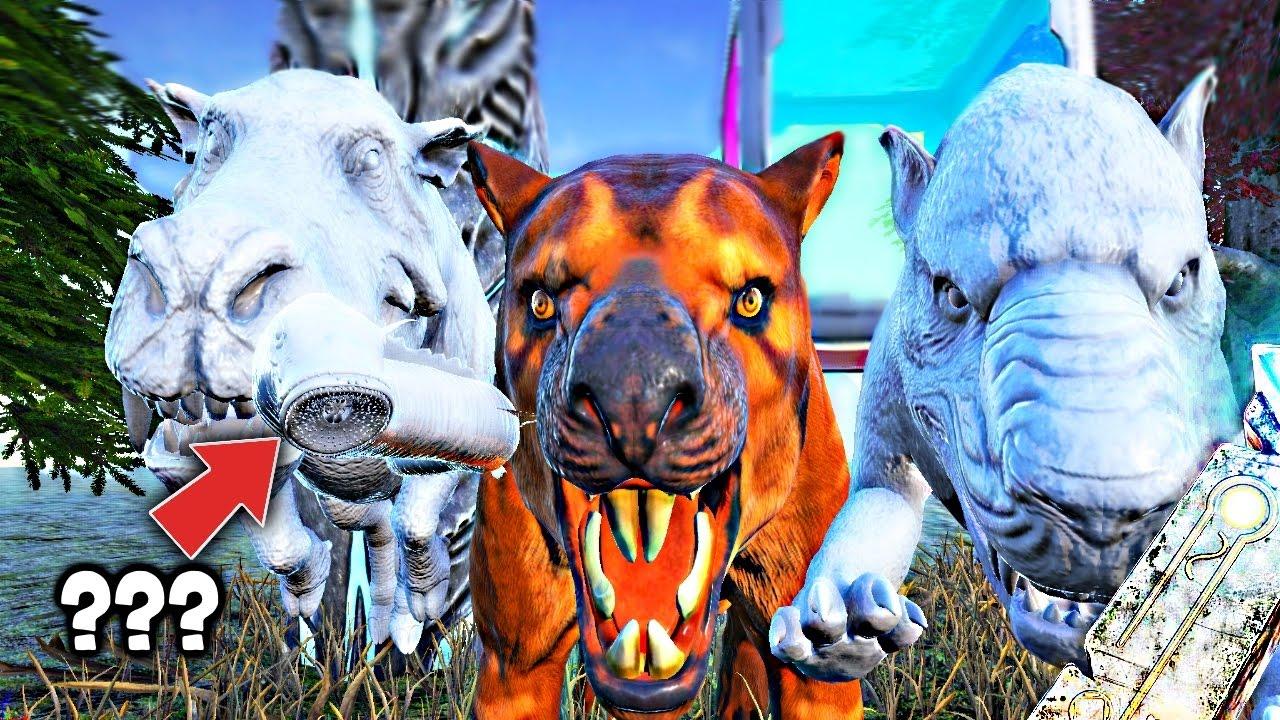 Ark Dev Kit Secret Lamprey No Dossier Thylacoleo Daeodon