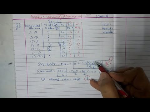Bsc Statistics Notes Part 2 Chapter 14