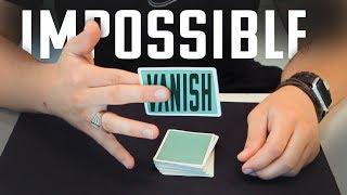 IMPOSSIBLE Card VANISH + SHOT // Tutorial