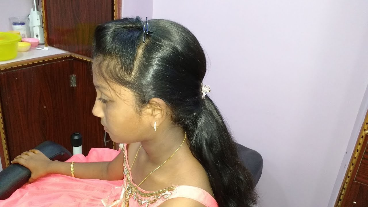 how to make simple puff hairstyle at home