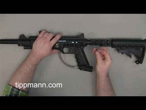 US Army Carver One Collapsible Stock Install.mpg