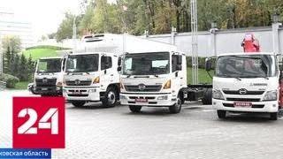 видео Японский завод компании Hino в Химках