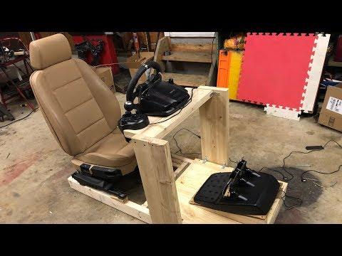 Building a Sim Racing Cockpit | Wood DIY
