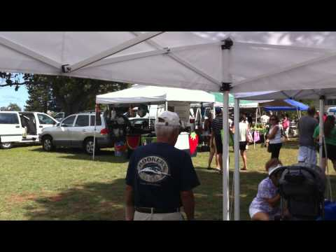Farmers market at Pearl city Hawaii