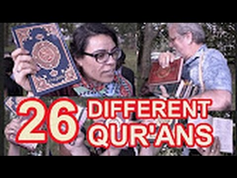 Arabs find 26 Differant Arabic Qurans that Prove it is not Preserved - Angry Muslims Reaction...