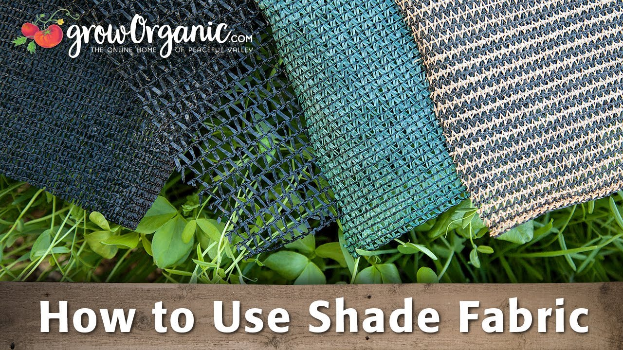 How To Use Shade Fabric U0026 Protect Your Plants From The Extreme Summer Heat