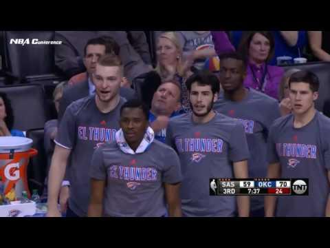 San Antonio Spurs vs OKC Thunder | FULL HIGHLIGHTS | 3.9.17 | 16-17 NBA Season