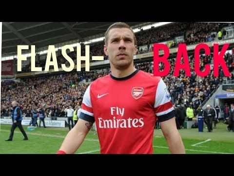 FLASHBACK: Lukas Podolski - Arsenal ● Goals, skills, assists... ●