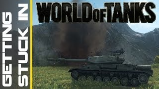 World of Tanks Live - Getting Stuck In