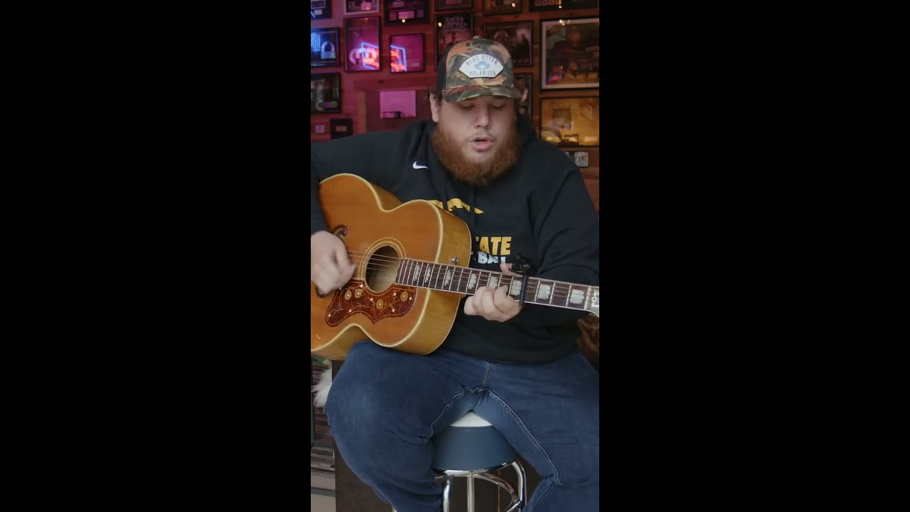What Are You Listening To — Luke Combs (Chris Stapleton Cover)