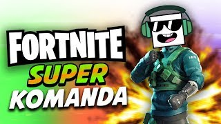 Fortnite super komanda!!! (Skin giveaway)
