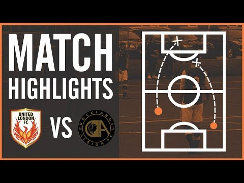 HIGHLIGHTS | United London FC v Docklands Albion - Fenton Cup, Round 2