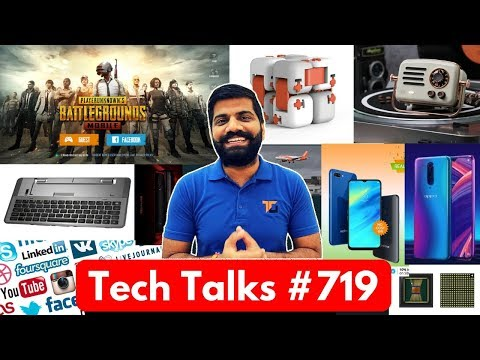 Tech Talks #719 - Android Q, PUBG Prime & Prime Plus, Lenovo Z5 Pro GT, Fake GPS Apps, Realme Update