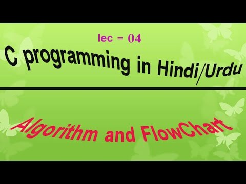 Algorithm and Flowchart in Hindi