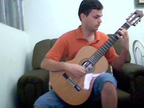 Allemande BWV 996 BACH Violao Giannini c6 sor