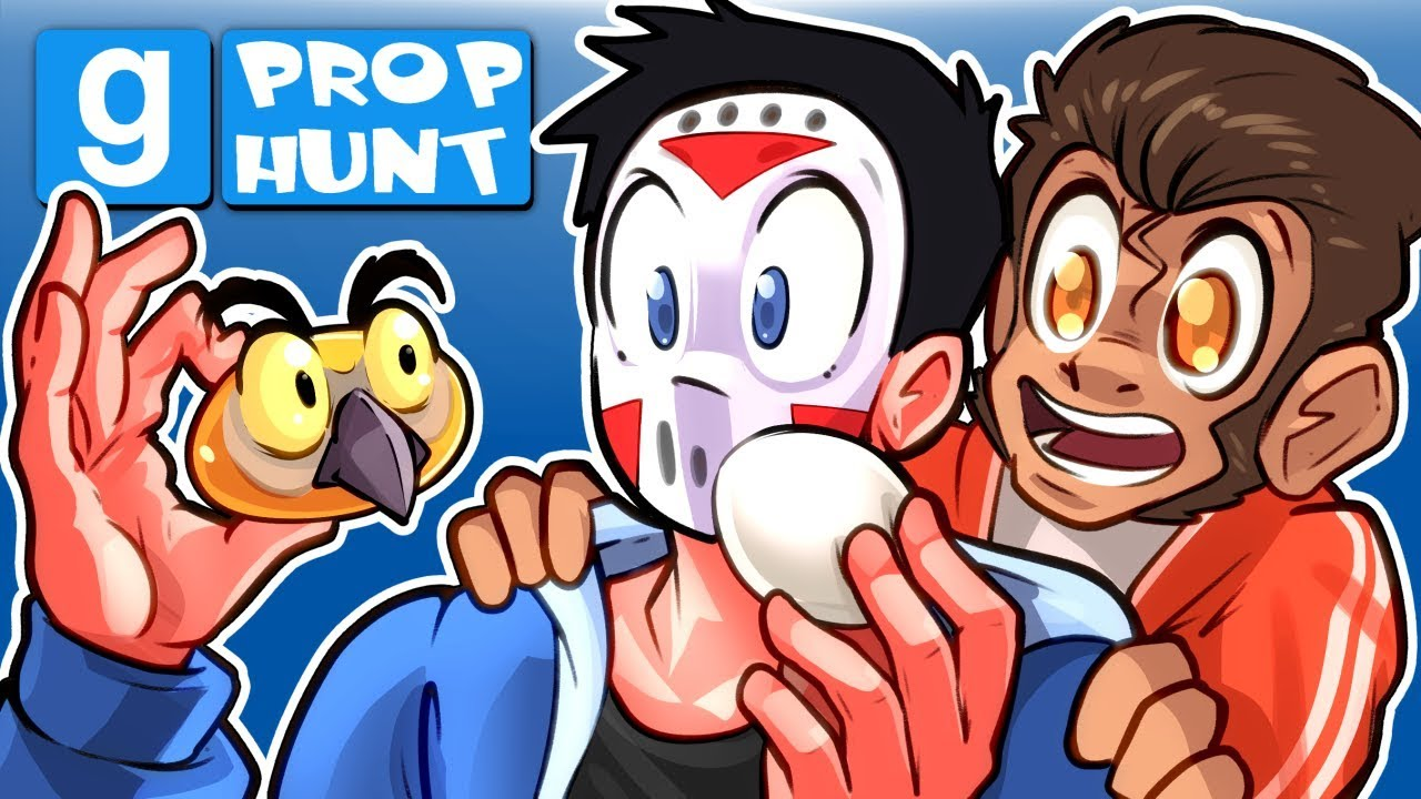 Gmod Ep  76 PROP HUNT! - SUPER LATE LOST EASTER VIDEO FOUND! (Garry's Mod  Funny Moments)
