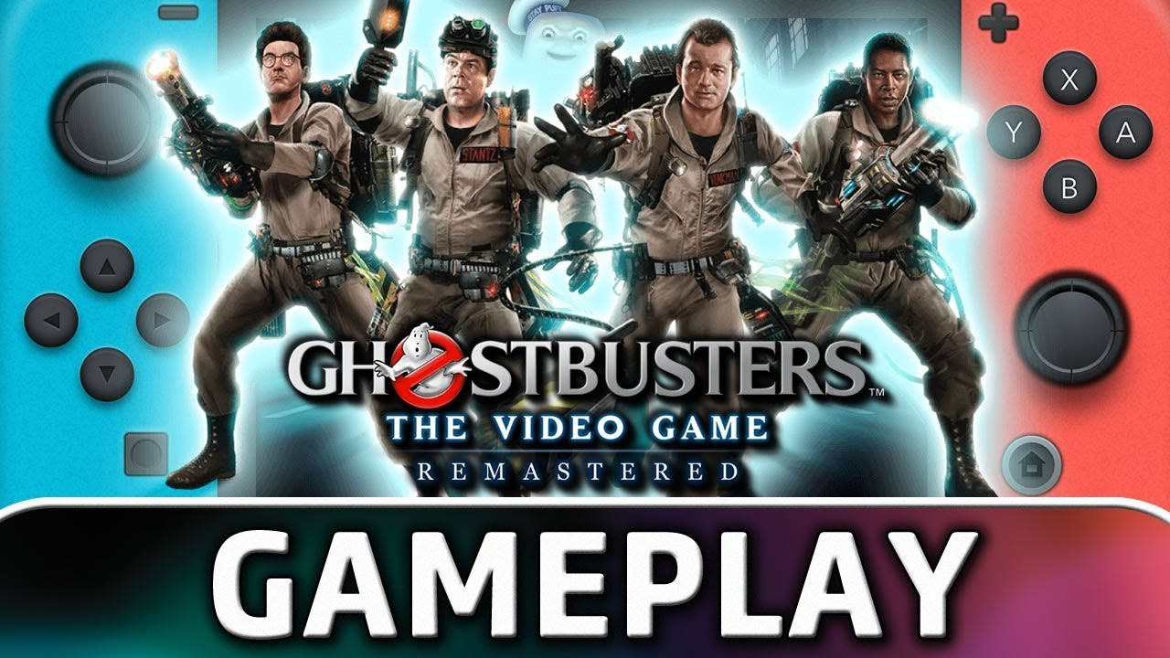 Ghostbusters: The Video Game Remastered | First 25 Minutes on Nintendo Switch
