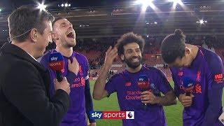 Mohamed Salah jokes about the end of his goal drought