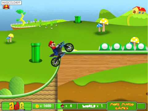 Super Mario Drive - ADEgames Gameplay By Magicolo
