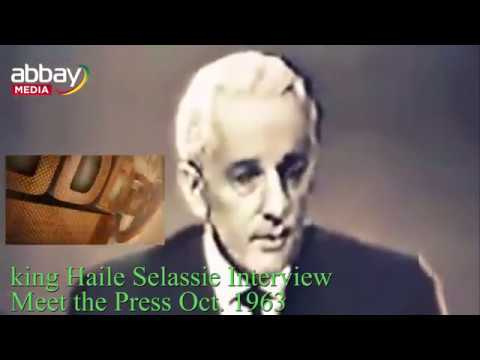 King Haile Selassie historic Interview with Meet The Press, October 1963