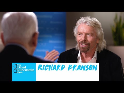 The David Rubenstein : Richard Branson