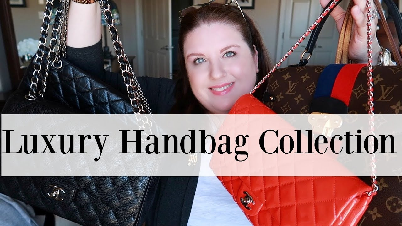 213f6179c01468 My Entire Luxury Handbags Collection 2019👜 | Louis Vuitton, Chanel, Dior  and more .