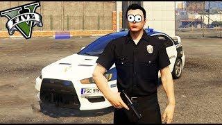 GTA 5 LIFE - COMO SER EL MEJOR POLICIA!! XDD - Nexxuz