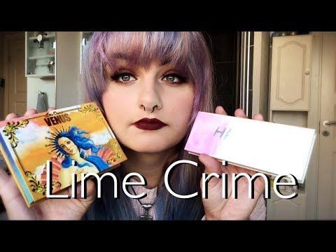 Lime Crime review/ tutorial -FAILURE-