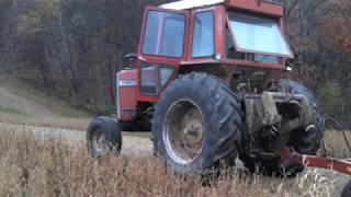 1135 Massey Ferguson Planting Soybeans