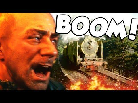 TRAIN GO BOOM! (Call of Duty WW2 Campaign #4)