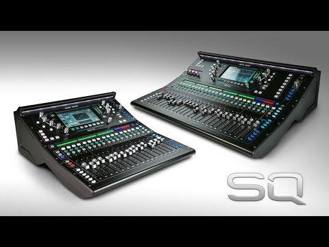 Introducing Allen & Heath SQ Digital Mixers