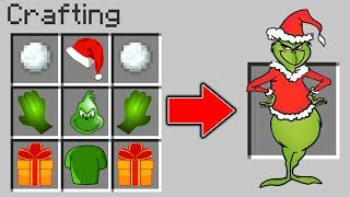 GRINCH CRAFTEN IN MINECRAFT