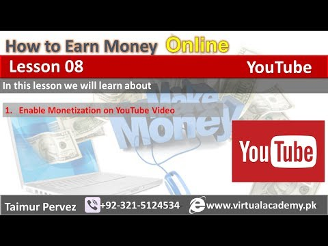 how-to-enable-monetization-on-youtube-video-||-how-to-make-money-on-youtube-||-lesson-08