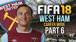 FIFA 18 West Ham Career Mode Gameplay Walkthrough Part 6 - WEST HAM LEGEND STEPS UP