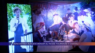 Yvelines | Rencontrez Auguste Renoir au musée Fournaise à Chatou !