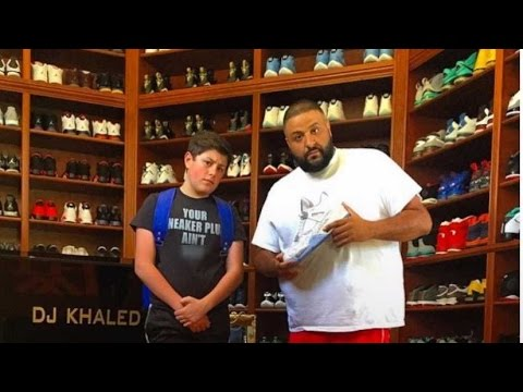 super popular b17b8 2bcb7 16-Year-Old Makes A Fortune Selling Sneakers To Celebrities - YouTube