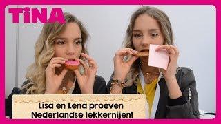 LISA & LENA PROEVEN NEDERLANDSE SNACKS | Tina