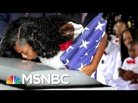 President Donald Trump Undercuts Gold Star Widow Myeshia Johnson In New Tweet | Morning Joe | MSNBC