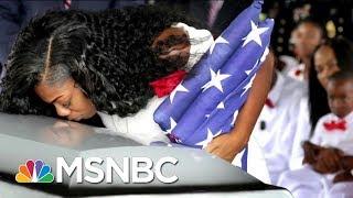 President Donald Trump Undercuts Gold Star Widow Myeshia Johnson In New Tweet | Morning Joe | MSNBC