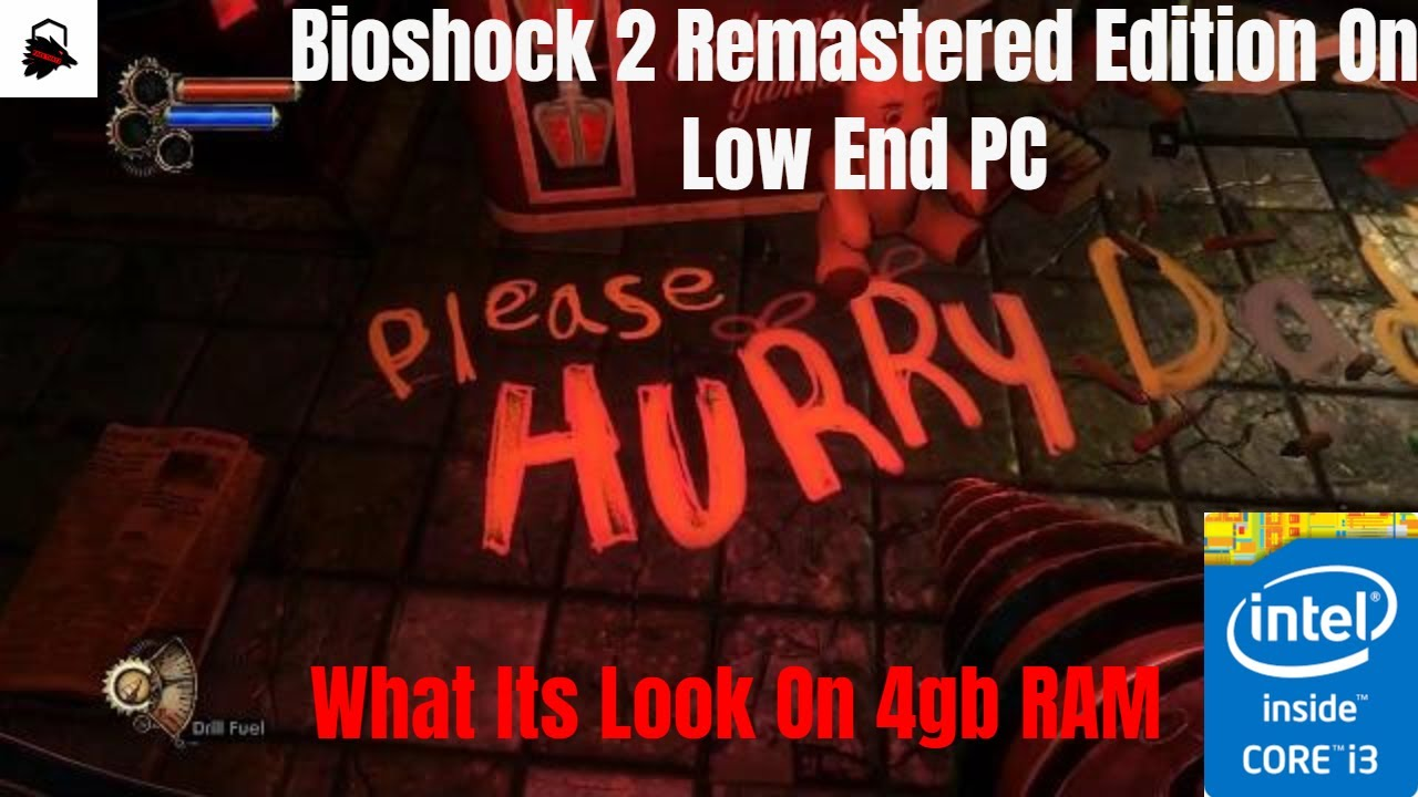 Bioshock 2 Remastered Gameplay